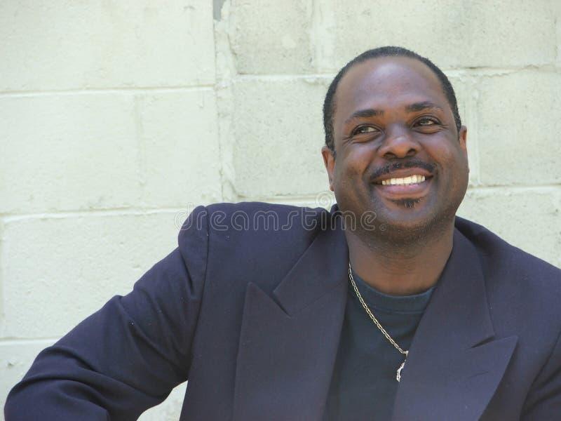 Afroamericano Businessman3 fotografie stock libere da diritti