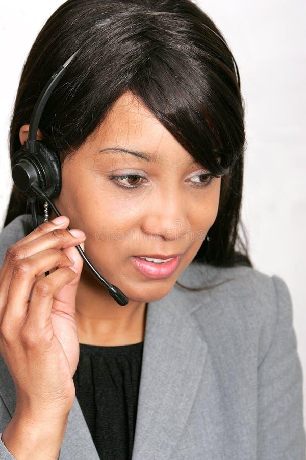 Afroamerikaner Übersichtsberichtrepräsentant lizenzfreies stockbild