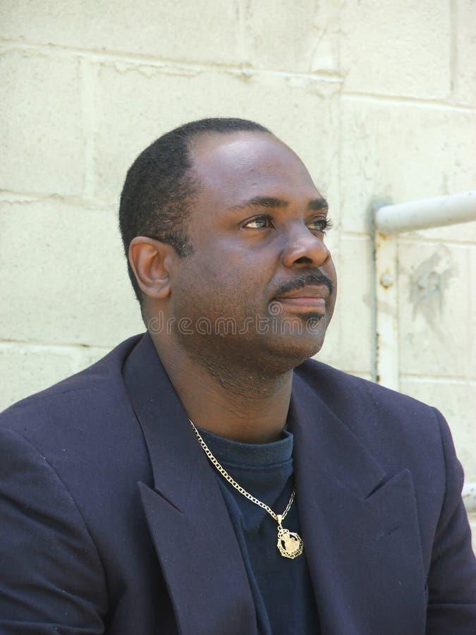 Afroamerikaner Businessman2 lizenzfreie stockbilder