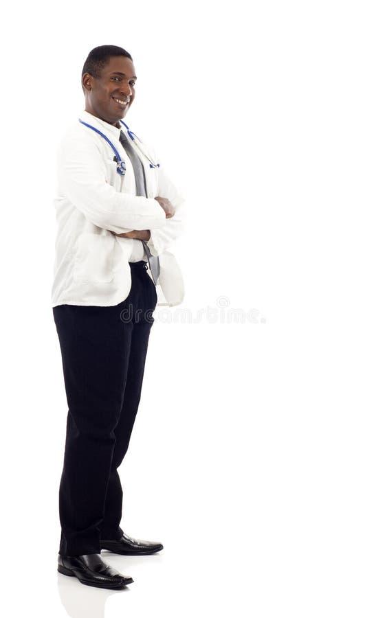Afroamerikaner-Doktor stockbilder