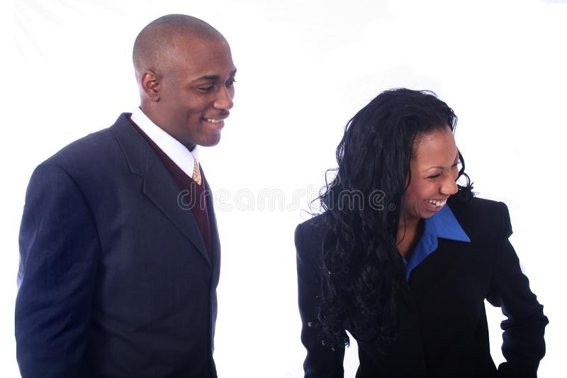 Afroamerikaner-geschäftsleute Kostenlose Stockfotografie