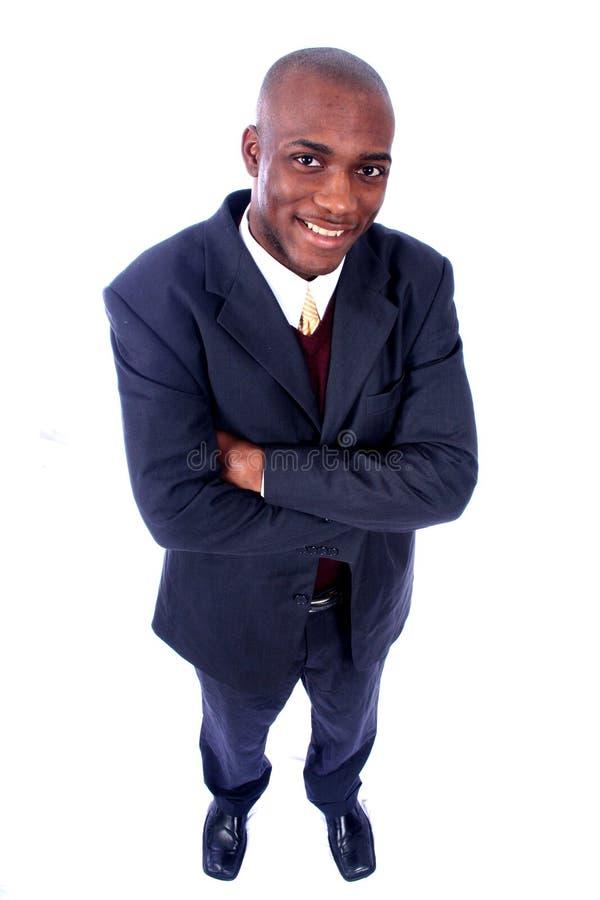 Afroamerikaner-Geschäftsmann stockbilder