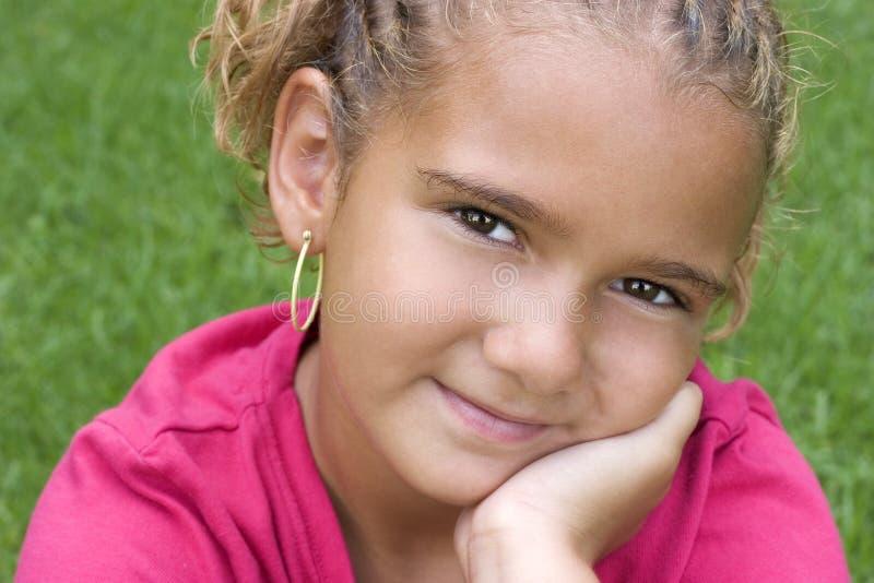 Afroamerikaner-Kind stockfoto