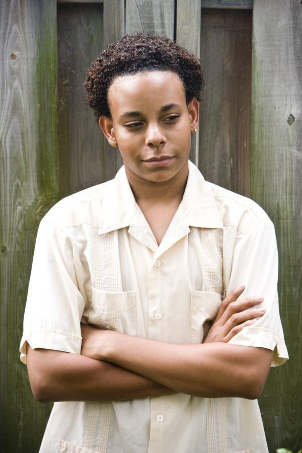 Afroamerikaner-Teenager lizenzfreie stockbilder
