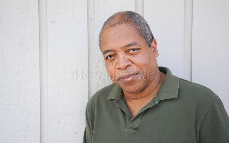 Afroamerikanermann. stockfotos