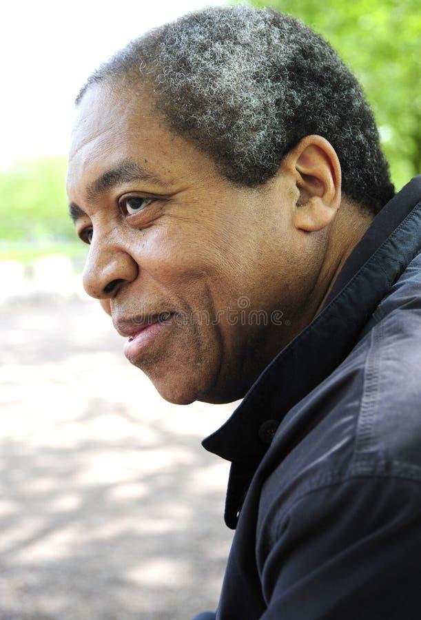Afroamerikanermann stockfoto