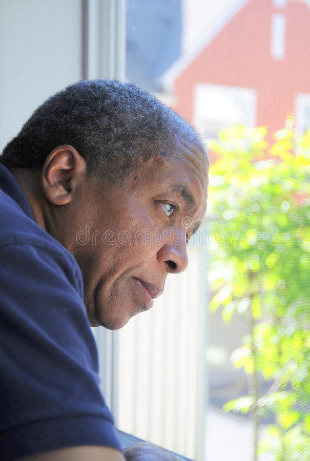 Afroamerikanermann. lizenzfreies stockfoto