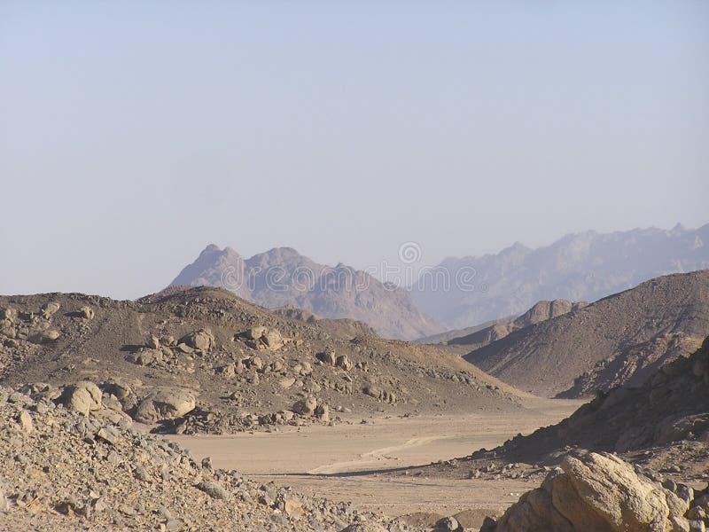 afryce dunes2 arabskiej Egiptu piasku zdjęcie royalty free