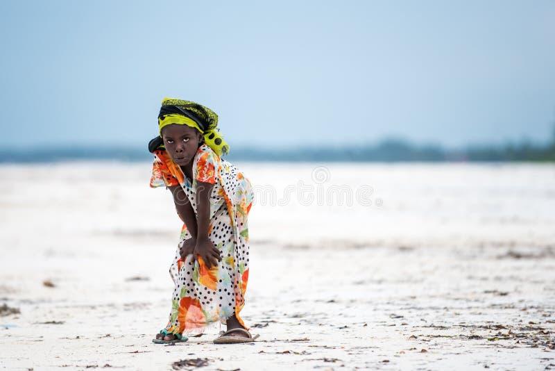 Afrykańscy dzieci w Zanzibar wyspie zdjęcia stock