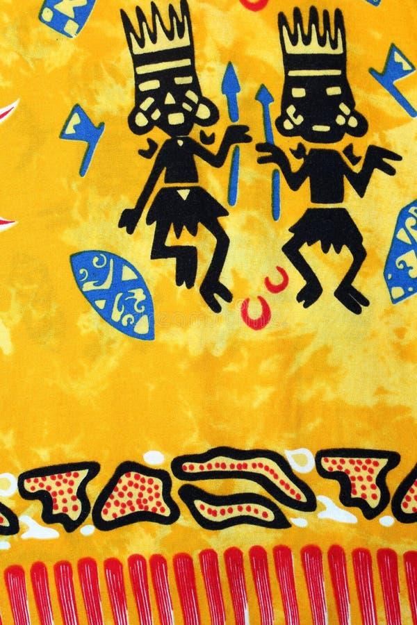 Afrykańscy ornamenty ilustracja wektor