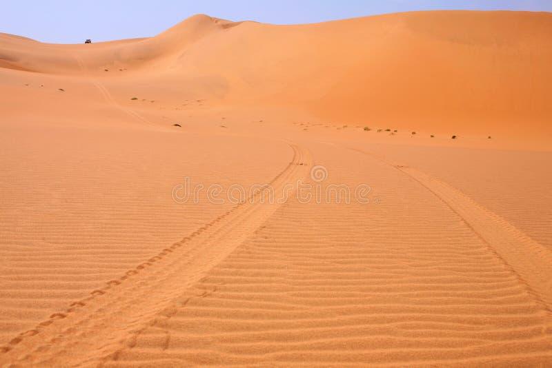 afrykańscy samochód pustyni druki zdjęcia stock