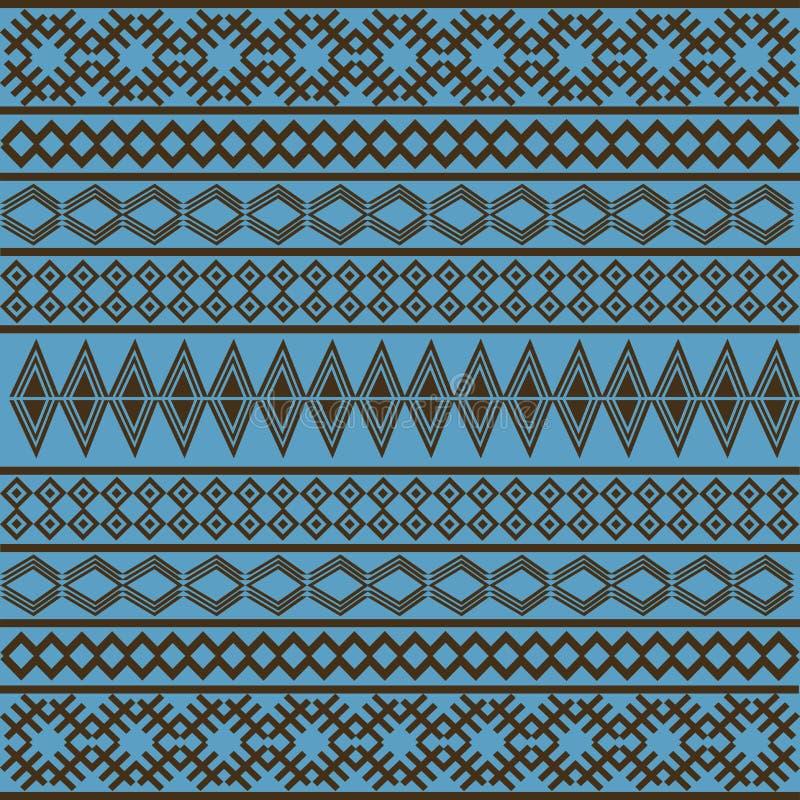 afrykańska błękitny tekstura royalty ilustracja