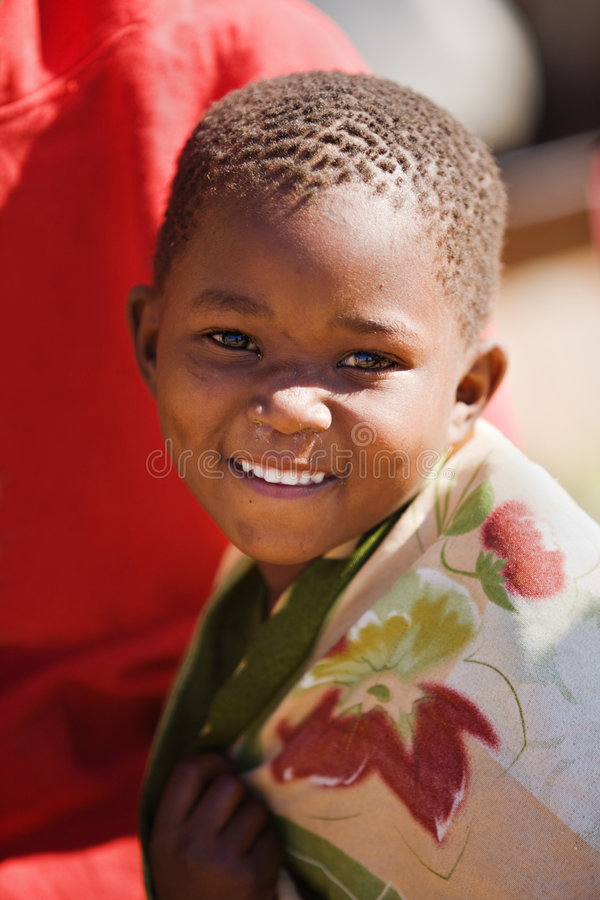 afrykańska chłopiec