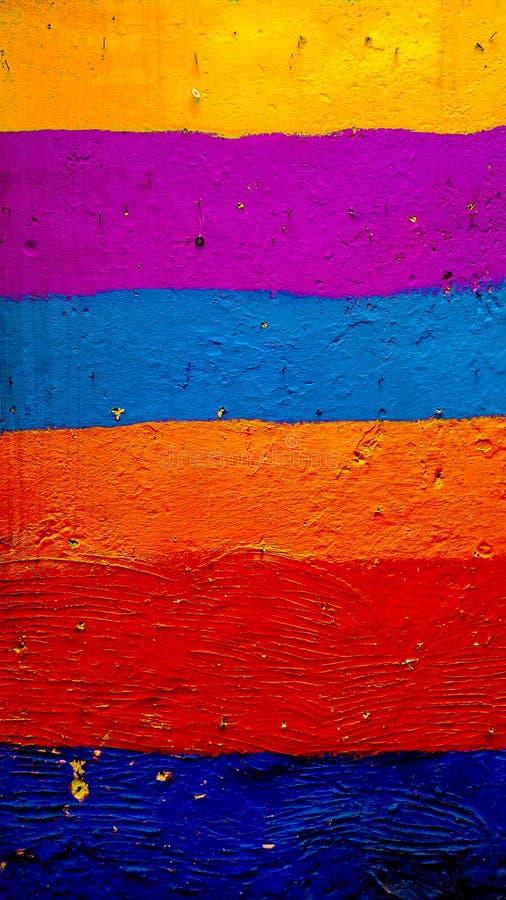 Afrykańska kolorowa ściana w fezie obrazy stock