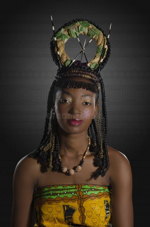 Afrykańska piękno fantazja obraz royalty free