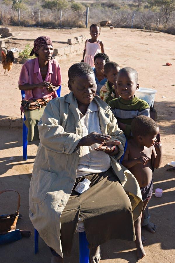 afrykańska rodzina zdjęcie royalty free