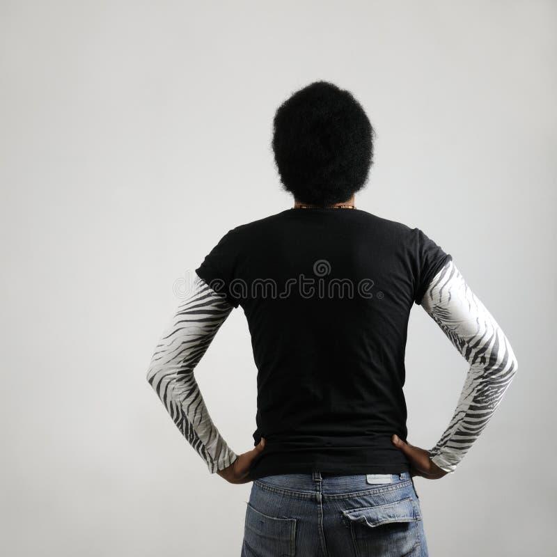 afrykańska tylna samiec fotografia royalty free