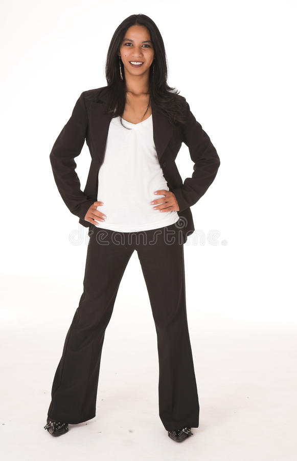 Afrykański Bizneswoman zdjęcie stock
