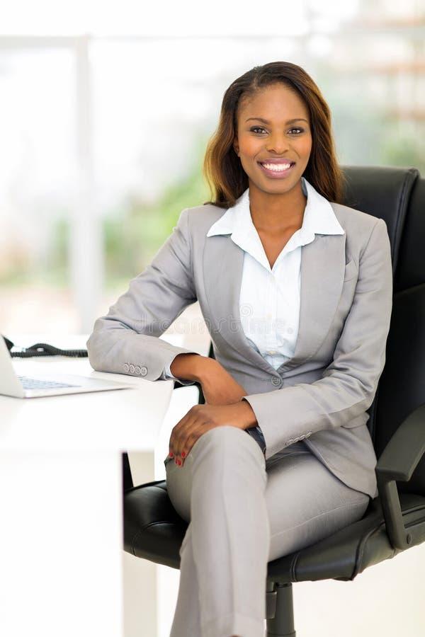 Afrykański dyrektor wykonawczy zdjęcie royalty free