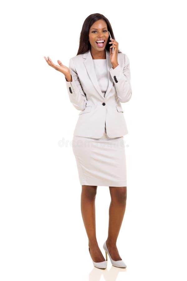 Afrykański dyrektor wykonawczy zdjęcia stock