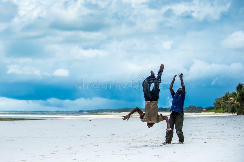 Afrykański dzieci bawić się obrazy stock