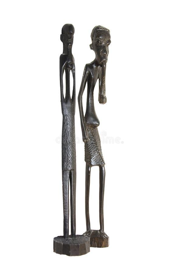 afrykański figurka zdjęcie royalty free