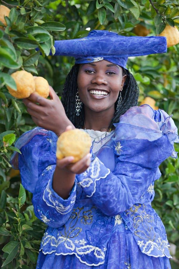 afrykański herero fotografia stock
