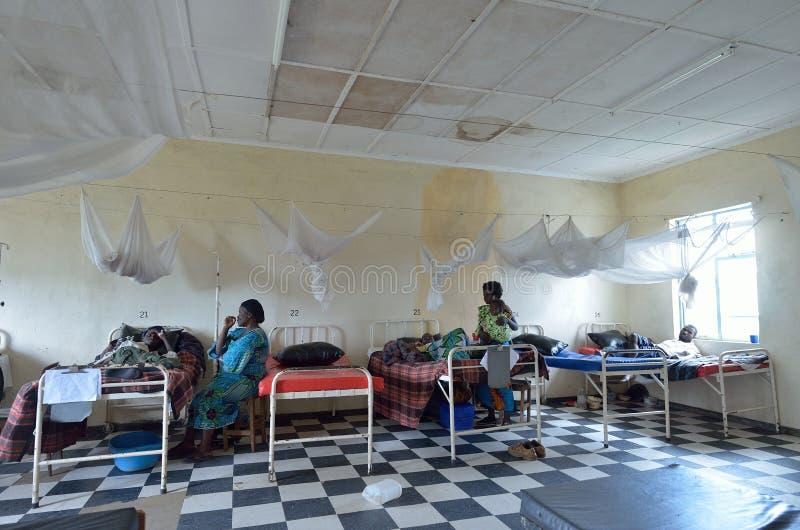 afrykański szpital zdjęcie stock