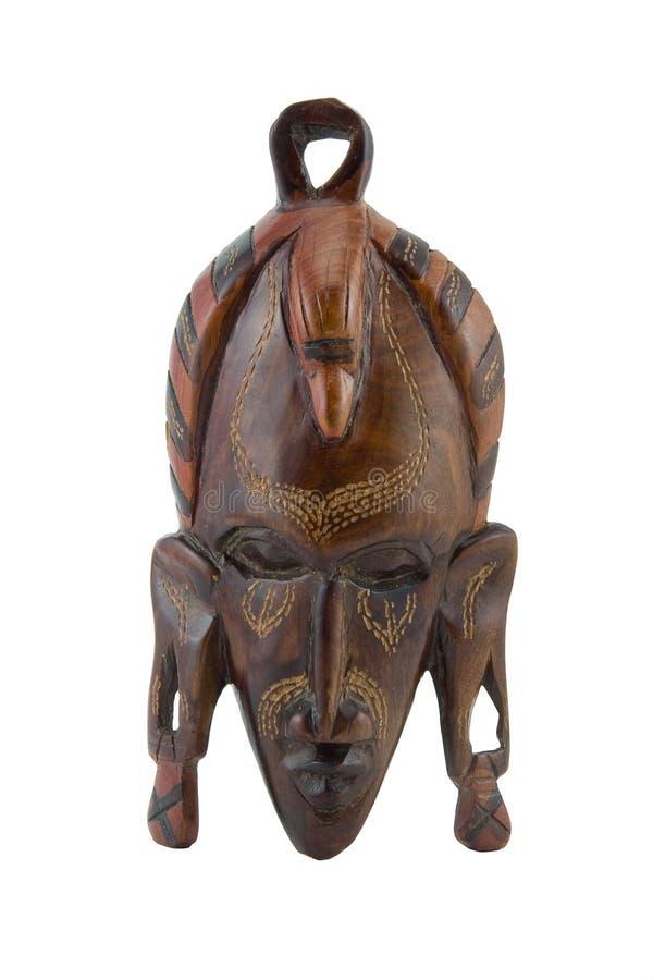 afrykański tło maski biel obrazy royalty free