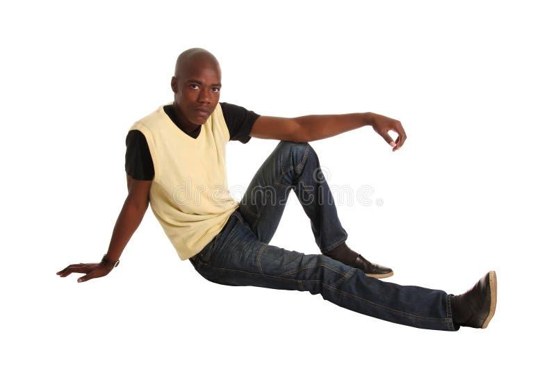 afrykański target2101_0_ mężczyzna zdjęcie stock