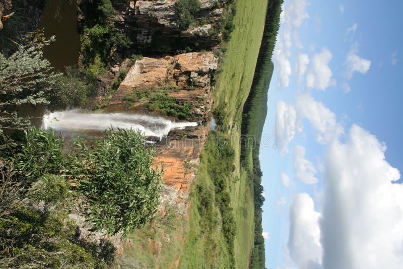 afrykański wodospadu zdjęcia stock