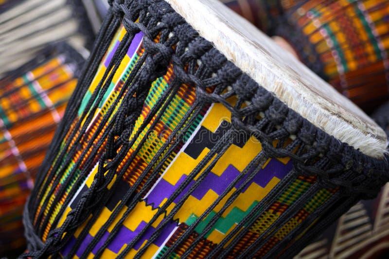 afrykańskie bębny obraz stock