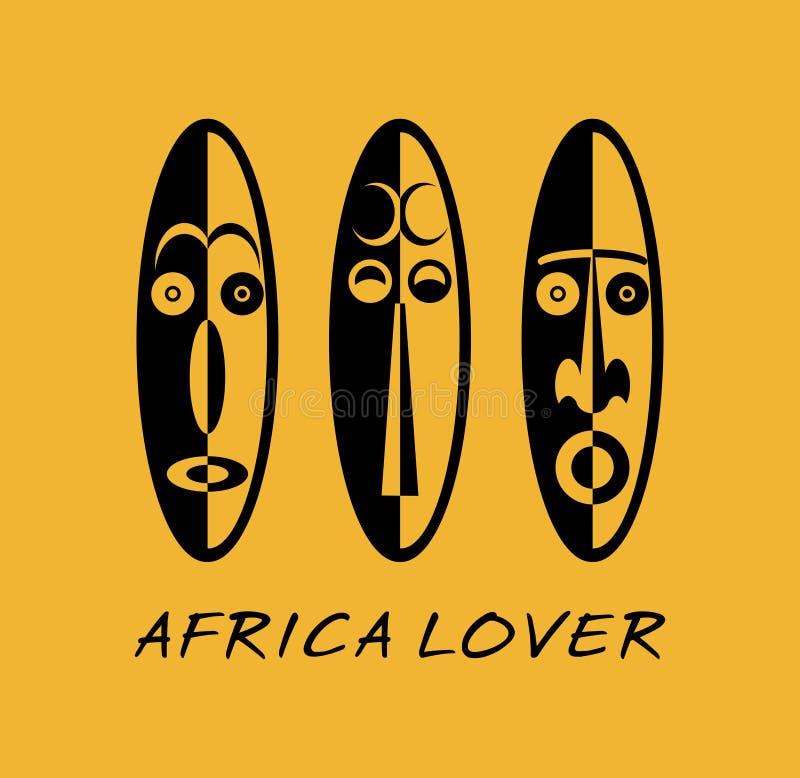 afrykańskie maski