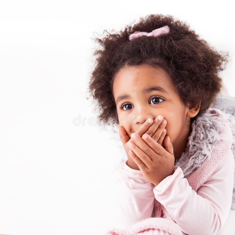 Afrykańskiego pochodzenia dziecko zdjęcie royalty free