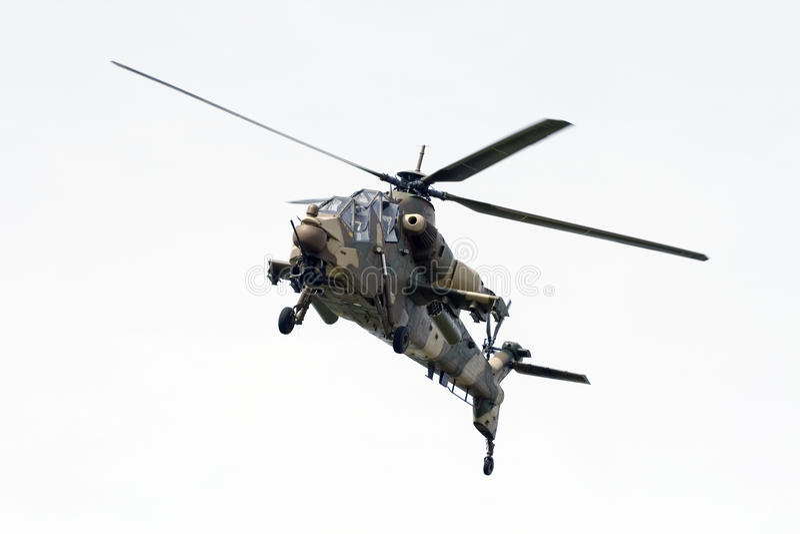 afrykańskiej lotniczego ataka siły śmigłowcowi rooivalk południe zdjęcie stock