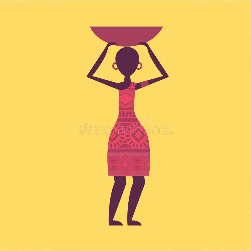 afrykańskiej zwierząt architektury kultury egipski hieroglyphics wizerunku wektor