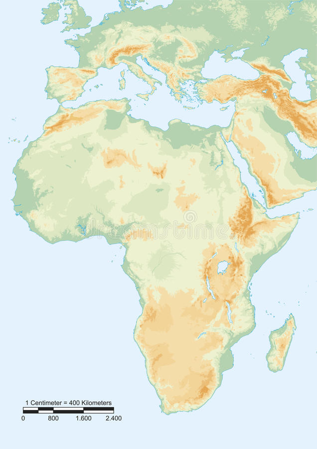 Afryka badanie lekarskie ilustracji