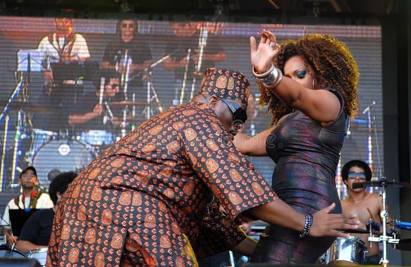 Afryka Bambaataa, Paula Lima - zdjęcia royalty free