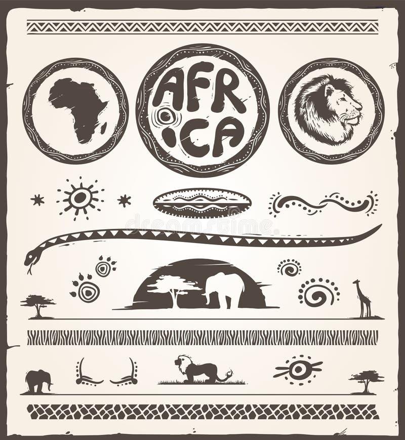 Afryka projekta elementy