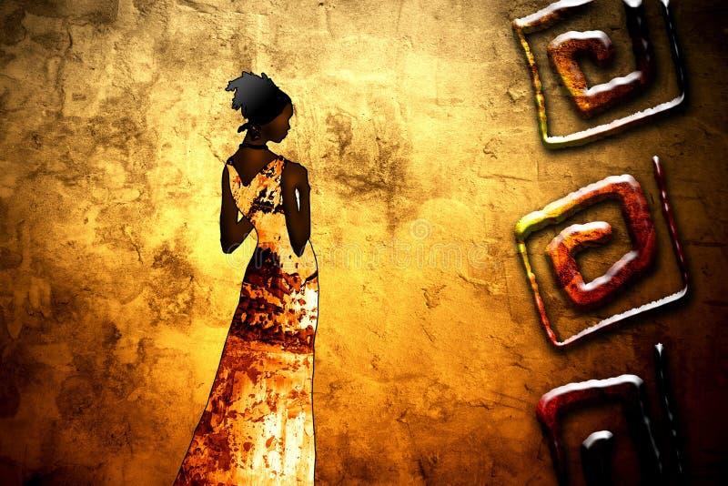 Afryka rocznika retro styl
