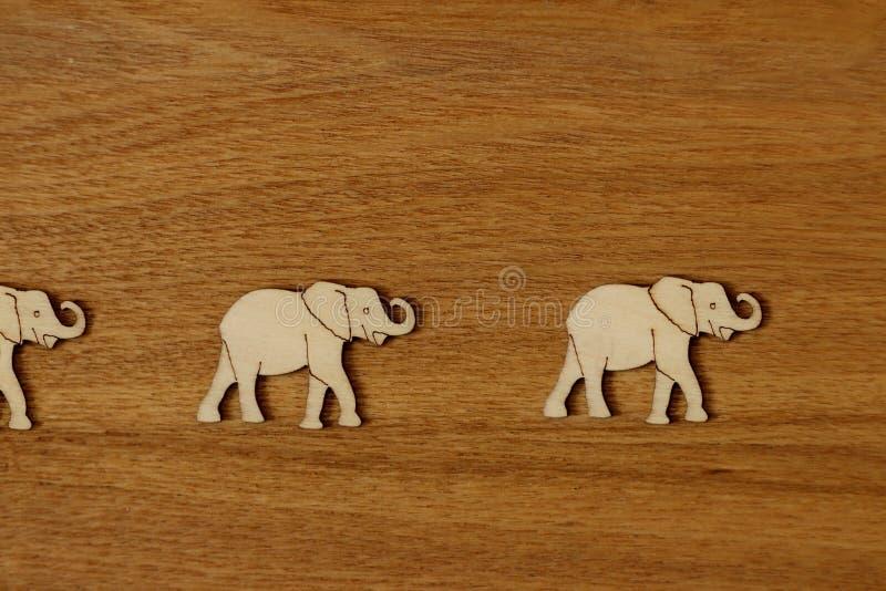 Afryka słonie w pustyni fotografia stock