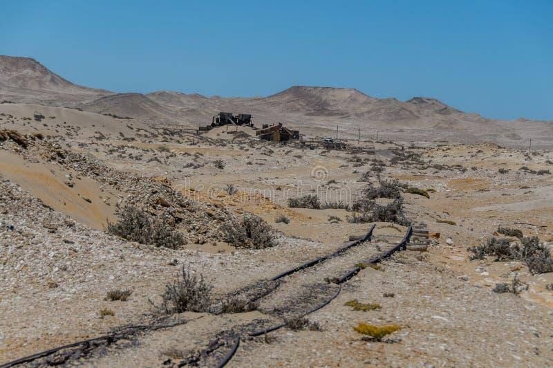 Afrykanów krajobrazy - Diamentowy teren Namibia zdjęcia stock