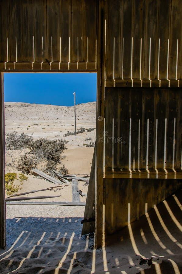 Afrykanów krajobrazy - Diamentowy teren Namibia zdjęcie royalty free