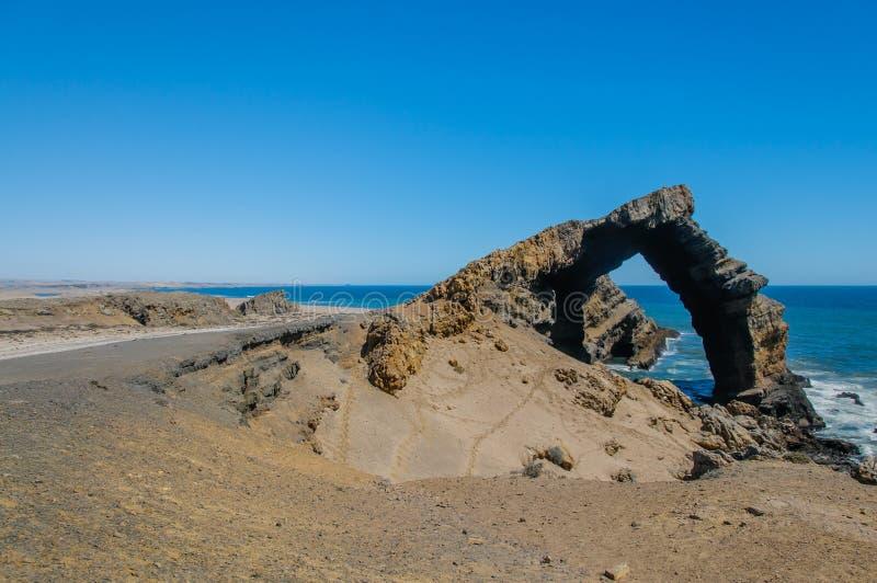Afrykanów krajobrazy - Diamentowy teren Namibia zdjęcia royalty free