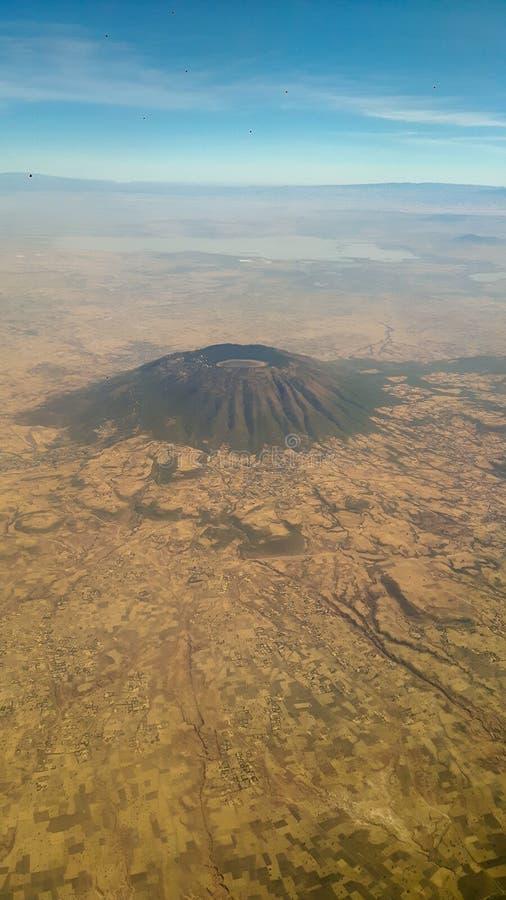 Afrykanów krajobrazy z góry obrazy royalty free