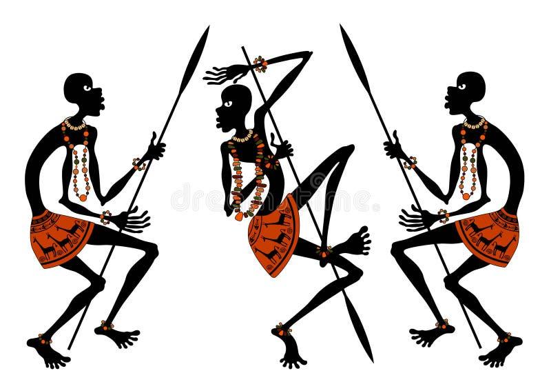 Afrykanie royalty ilustracja