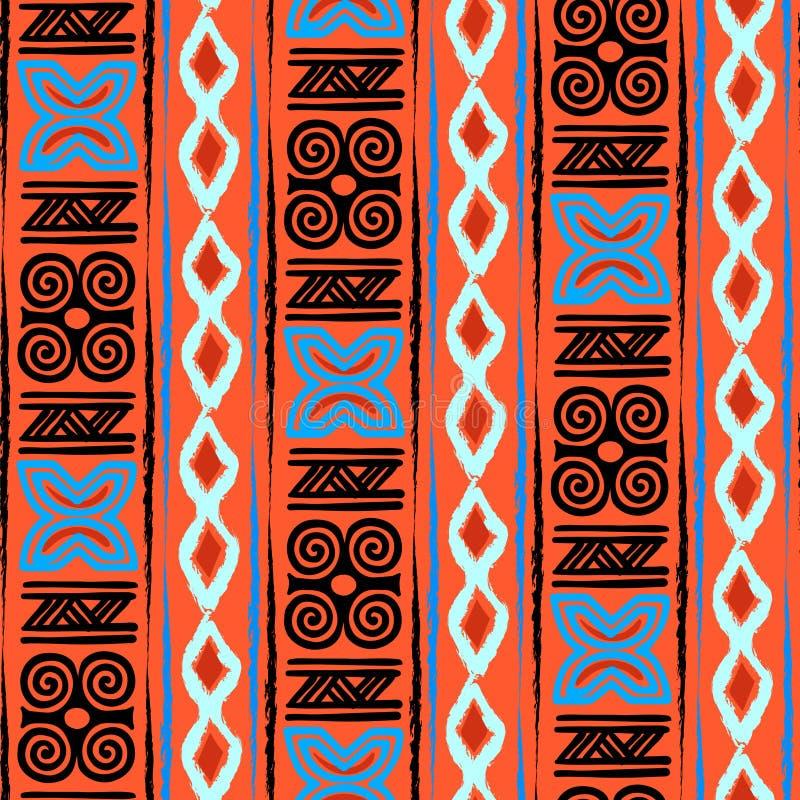 Afrykanina Adinkra wzór ilustracji