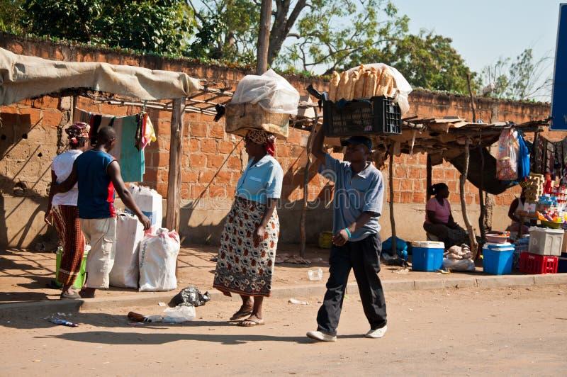 afrykanina chleba rynku sprzedawanie fotografia royalty free