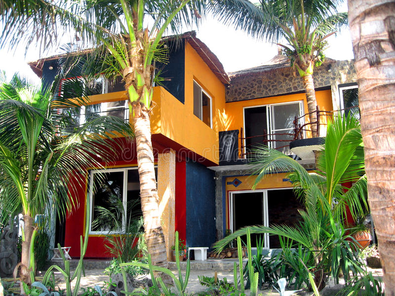 Afrykanina dom - Senegal zdjęcie royalty free