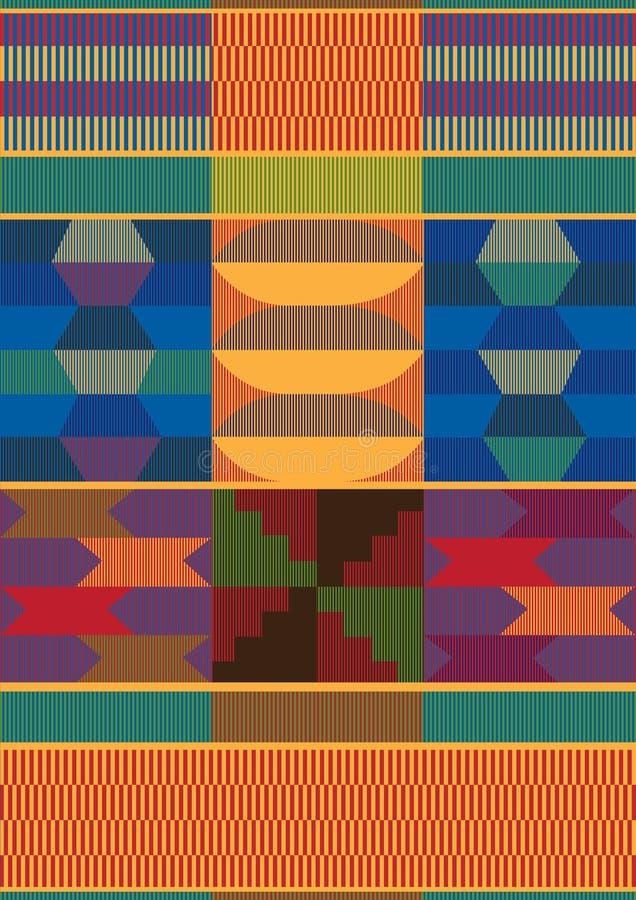 Afrykanina wzór ilustracji